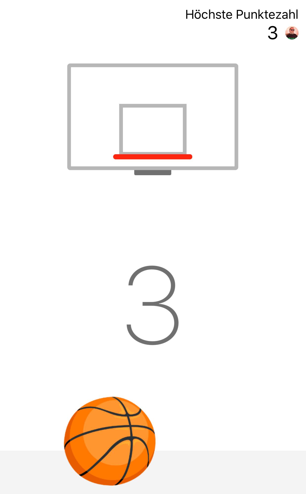 Basketball-Duell mit Facebook-Freunden